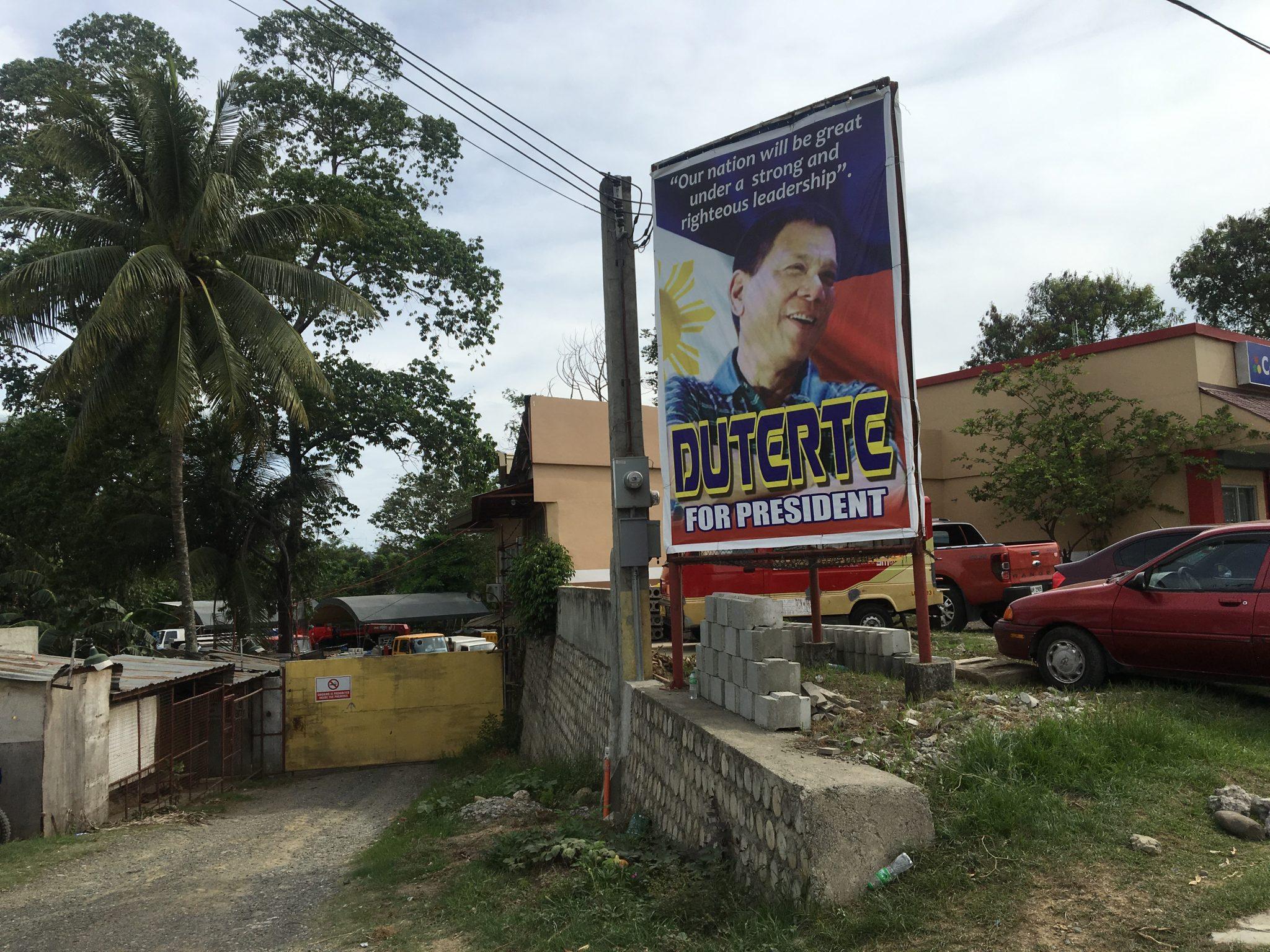 How to understand recent developments in Davao, Philippines