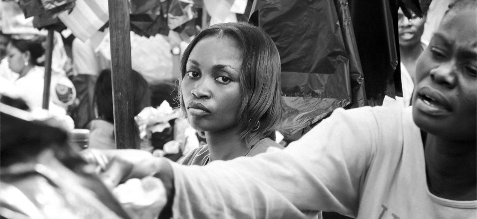 Woman in Market in Africa