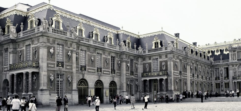 A Woman at a Palace in Paris